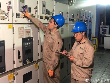 东丽公司对重点防汛泵站开展抗击台风保障用电特巡工作