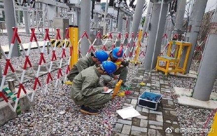 神农架供电公司对变电站重载线路带电检测