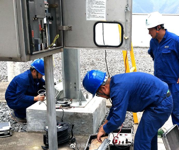110千伏巴姑变电站开展备用设备预试检测工作