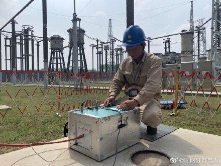 6月7日淮安换流站继续开展预防性试验工作