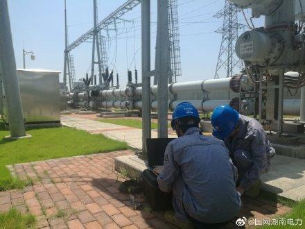 益阳市首例X射线成像检测技术在毛家塘变电站试行