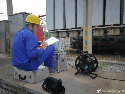 220千伏刘家湾变电站带电检测