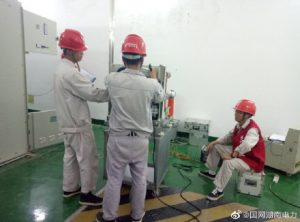 10KV高压室内新增#27-#38开关柜进行断路器特性试验