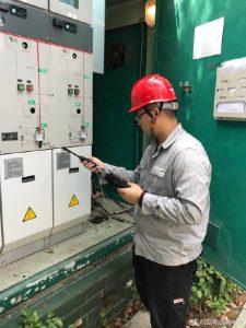 线架空设备和箱式设备开展带电检测