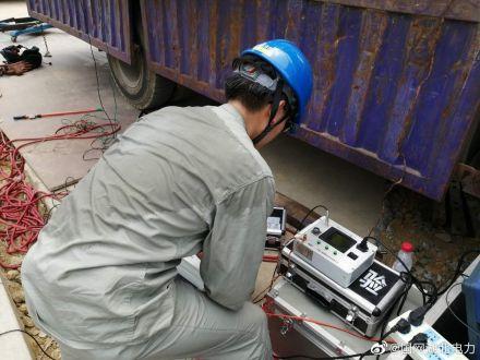 黄石供电公司对本站开展了增容改造工程