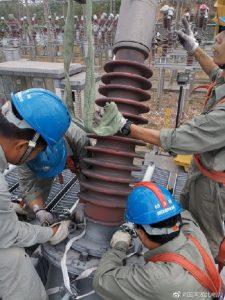国网宜昌供电公司圆满完成110kV青湖变电站2#主变压器拆除作业