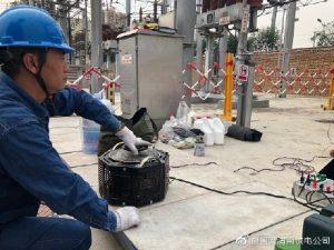 国网渭南供电公司检修人员快速消除设备隐患并完成试验工作