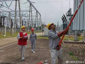 220kV扶夷变电站1号主变转检修