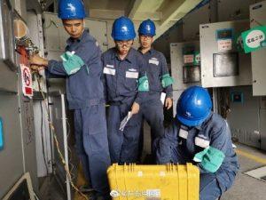 南方电网广东东莞供电局变电设备大体检