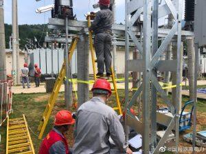 巨口铺变电站新建主变间隔的各设备交接试验