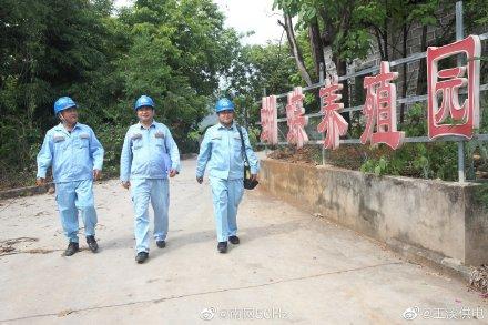 云南玉溪元江供电局对野生蝴蝶园开展用电服务