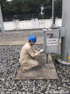 国网江苏检修公司对500千伏岷珠变现场进行预防性试验