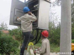 淮安淮阴刘老庄供电所展开供电设施巡视检查