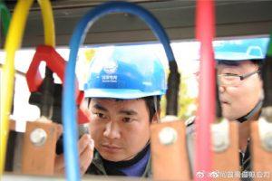 国网淮安市洪泽区供电公司对输变配电设备开展专项特巡