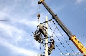 苏州运维站一回500千伏输电线路加装物联网感知装置工作
