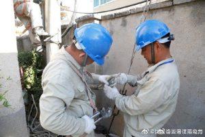 国网灌南县供电公司悦来西路实施增容改造