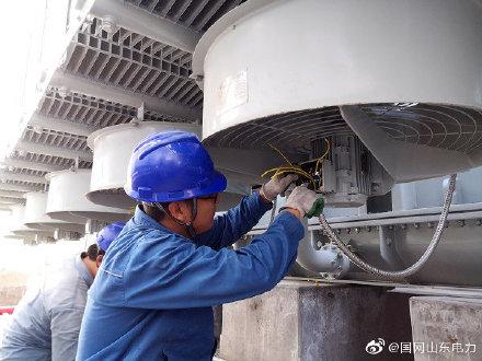 瓦宋变电站主变安装-耐压调试-局部放电试验