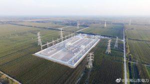启动500千伏贝州变电站送电工作