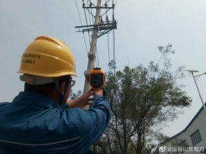 国网临沂供电公司开展配网设备特巡