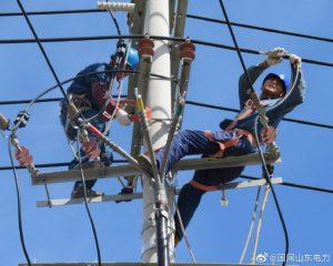 烟台市福山区供电公司线路改造,满足用电需求
