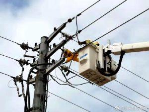 带电断接引线 消缺保障供电