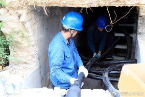 35千伏单东线配合市政工程电缆重新入地