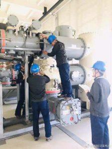 国网济源供电公司对酒店电气设备进行带电检测