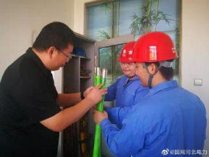 国网行唐县供电公司组织开展对安全工器具与生产工器具专项检查