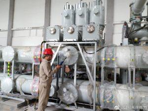 天津送变电公司六氟化硫检漏试验