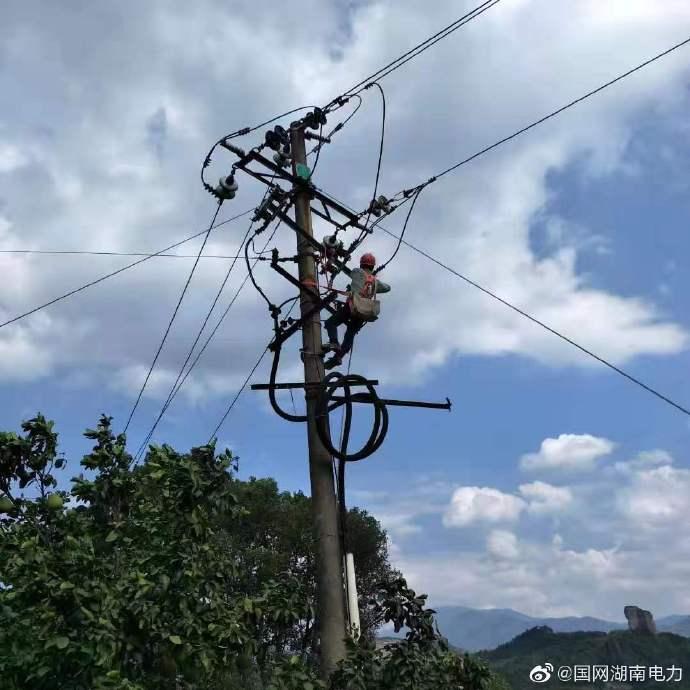 35千伏崀山变电站扩改计划停电