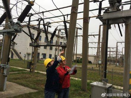 对35千伏龙溪铺变电站的1号主变进行停送电倒闸操作