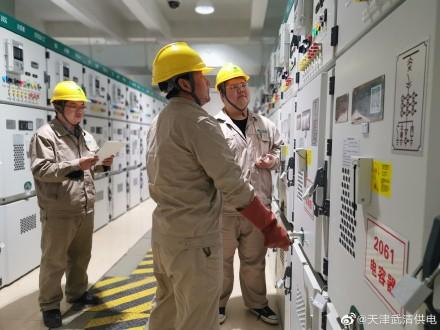 武清供电公司变电运检室顺利完成随着泉丰站改造工程