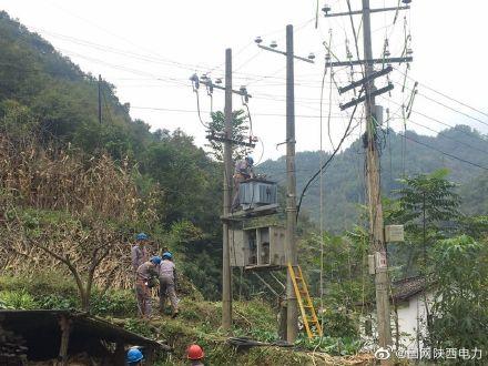 国网略阳县供电公司开展电力设备秋季检修