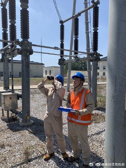 对220千伏云林变、全州变、丹徒变等变电一次设备特巡