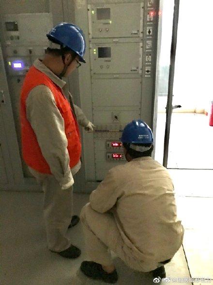 500千伏姚湖变开展停电试验工作