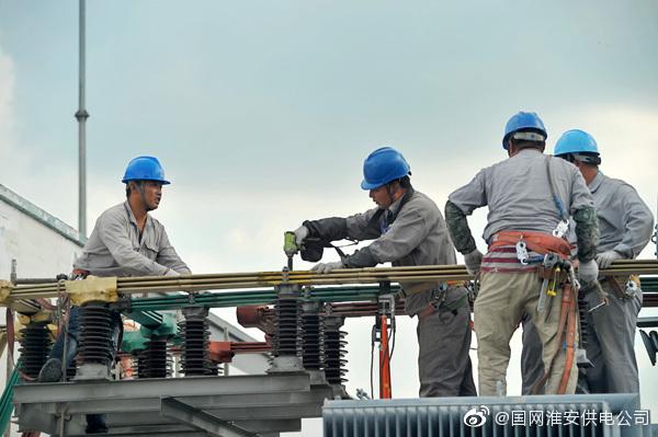110千伏新民变电站内检修1号主变压器