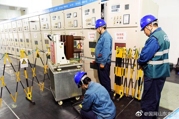 10千伏间隔设备进行电气试验和保护校验