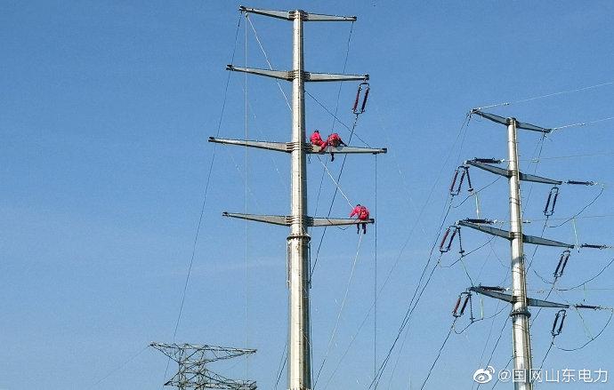 国网利津县供电公司对110千伏褚岭线开展秋季检修