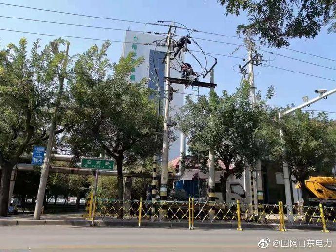 国网寿光市供电公司部分线路升级改造