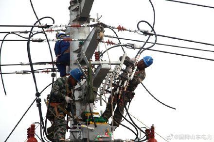国网枣庄供电公司对部分线路综合检修改造