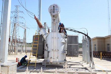 国网招远市供电公司35千伏道头变电站1号主变开展预防性试验