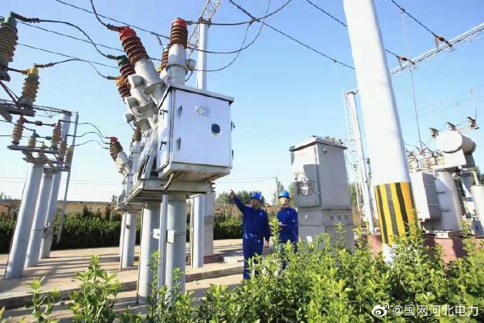 巨鹿县35千伏变电站开展预试、定检和消缺