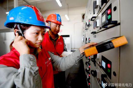 国网孝感供电公司某产业园配电设备进行超声检测