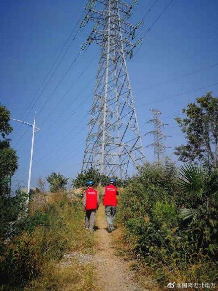 输电线路开展防山火特巡,共同维护电力线路、设备运行安全