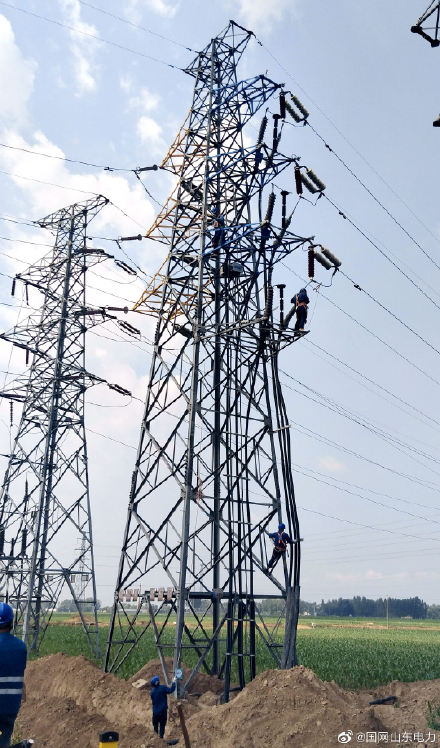 拆除110千伏景孙线短接线并对电缆段进行耐压和绝缘实验