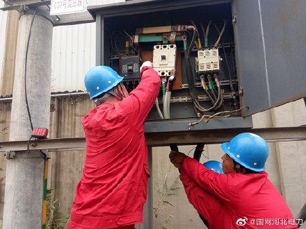10千伏于黄线路30号台区低压电缆抢修工作