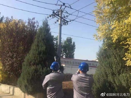国网保定市徐水区供电公司带电超声波局放检测
