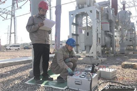 500千伏宝北变电站计量用互感器现场交接试验任务
