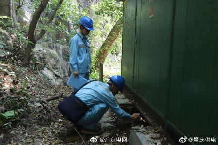南方电网广东肇庆端州供电局配电房检测设备运行情况